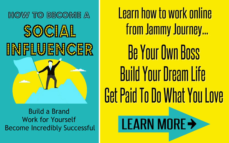 Jammy Journey Social Influecner book